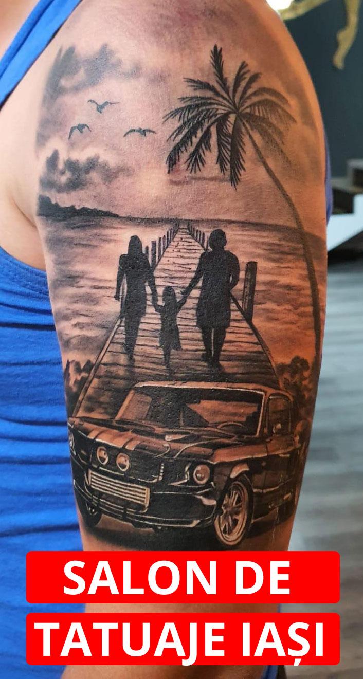 Un tatuaj permanent la un salon din Iași îți va oferi încredere și stil!
